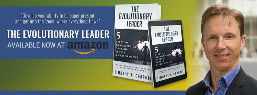 A happy lead is an evolved leader.