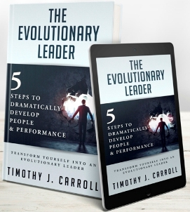 The Evolutionary Leader mockup LinkedIn 2